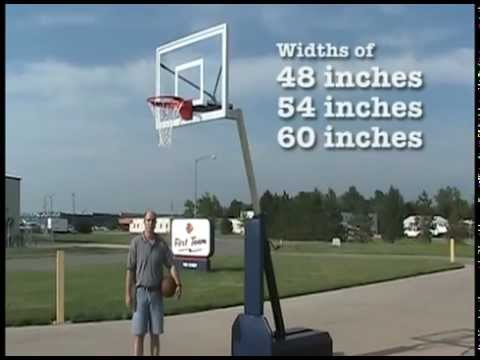 Fury™ Portable Basketball Goal