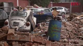 Habitantes de Xochimilco solicitan apoyo de personas y maquinaria