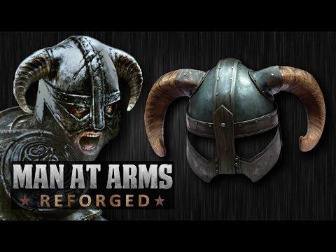 Dragonborn s Iron Helmet Skyrim