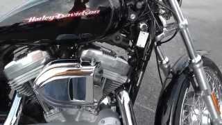 9. 413890 - 2007 Harley Davidson Sportster 883 Custom XL883C - Used Motorcycle For Sale