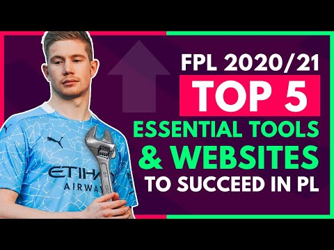 5 ESSENTIAL Tools To Make You Better at FPL! | Fantasy Premier League 2020/21