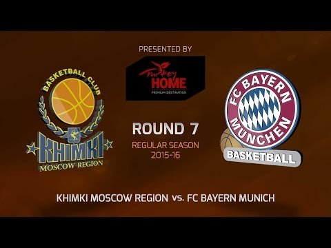 Highlights: RS Round 7, Khimki Moscow Region 70-81 FC Bayern Munich