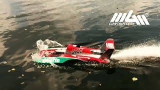 Hydroplanes on RC Powerboat meeting Germany