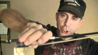 How To Hold A Violin Bow by Fiddlerman.m4v