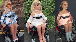 Beauty Blogger With Spinal Muscular Atrophy Has Amazing Makeup Skills