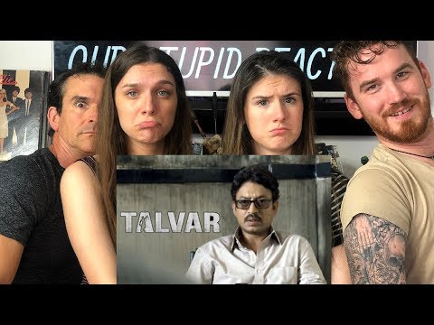 TALVAR | Irfan Khan | Trailer REACTION!