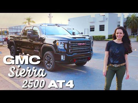 Nova GMC Sierra 2500 AT4 HD Diesel 2020