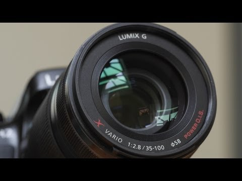 Panasonic Pro Zoom Lenses: 12-35mm 2.8 and 35-100mm 2.8