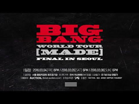 BIGBANG - WORLD TOUR 'MADE' FINAL IN SEOUL - PROMO SPOT