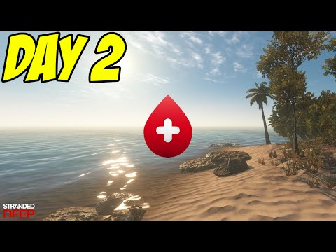 Stranded Deep: Day 2 | Bloody Sharks!