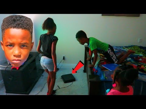 Destroyed My Sons Playstation PRANK!