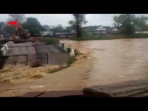 Последствия сильнейшего наводнения в Приморье