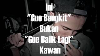 Eizy   Gue Bangkit  Diss Young Lex   Lyrics Video