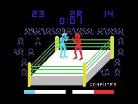 Heavy Boxing (1983, MSX, Takara)