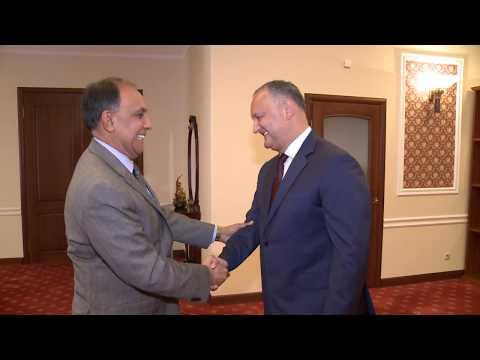 Președintele țării a avut o întrevedere cu ex-ambasadorul Statelor Unite ale Americii în Republica Moldova