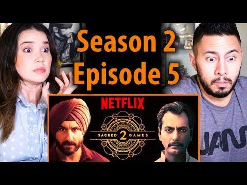 SACRED GAMES | Season 2 Episode 5 | Saif Ali Khan | Nawazuddin Siddiqui | Reaction