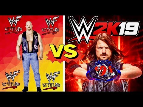 WWF Attitude Finishers VS WWE 2K19 Finishers Comparison👏😍WHO IS THE BEST👏😍