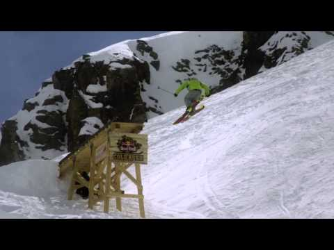Freeskiing competition - Red...