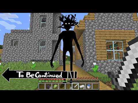 TO BE CONTINUED - Shadow Man in Minecraft By Scooby Craft MEME