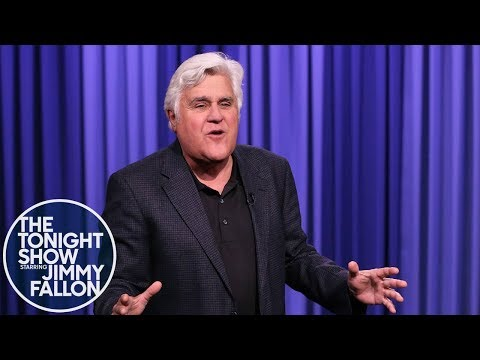 Jay Leno Interrupts Jimmy's Monologue with an Angry Rant