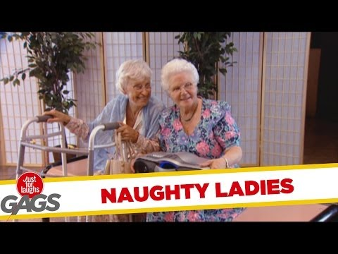 Naughty Funny Grannies Are Guaranteed To Make You Smile, LOL!