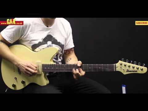 Ibanez - CMM1-IV Chris Miller Signature Demo at GAK