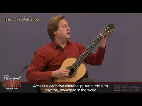 Classical Guitar Lessons with Jason Vieaux: Segovia Scales
