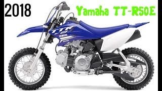 2. AWESOME! 2018 Yamaha TT R50E Specifications