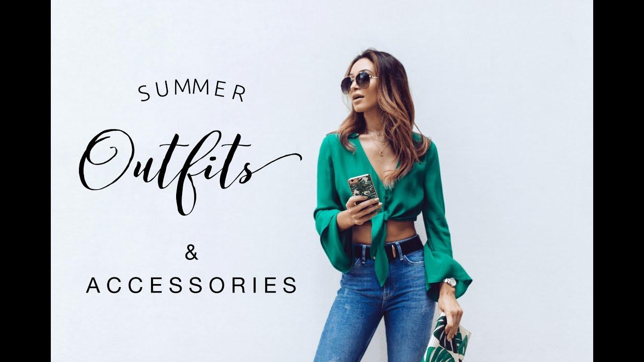 5 SUMMER OUTFITS | Danielle Peazer