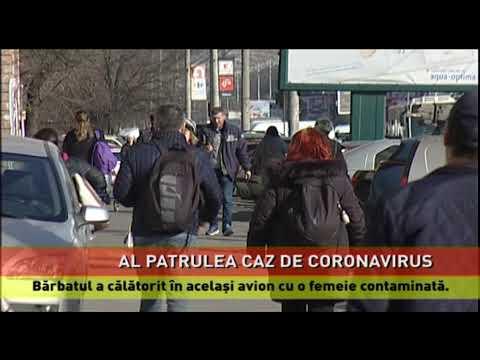 Al patrulea caz de infectare cu coronavirus, confirmat în România