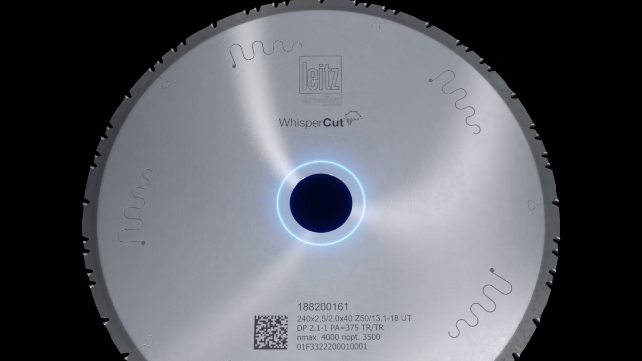 Leitz WhisperCut circular sawblade - High performance with a whisper