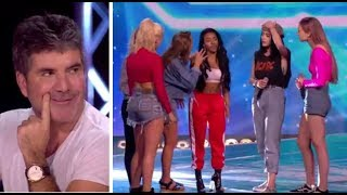 Video Simon Cowell PULLS a Girl From Her Band To Join NEW Girl Band | The X Factor UK 2017 MP3, 3GP, MP4, WEBM, AVI, FLV Oktober 2018
