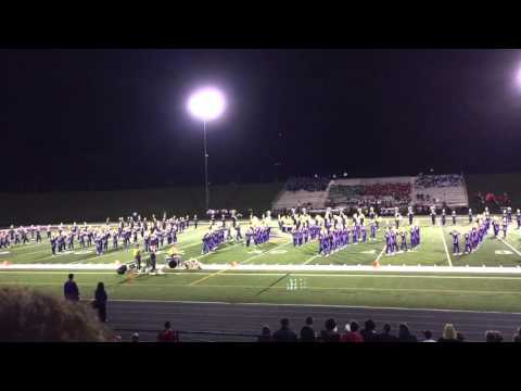 Jackson high school marching band September 19, 2015