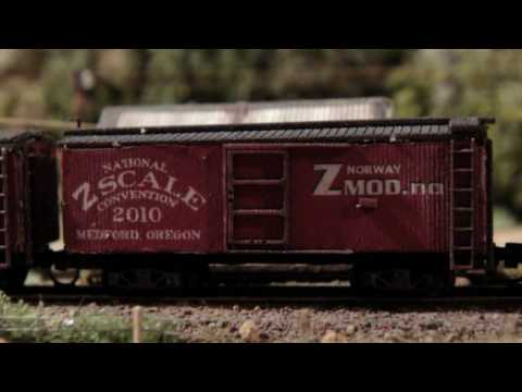 smholt - Enjoy torsjas new model ready for the Z-Scale National Convention 2010. Next stop is Medford Oregon.