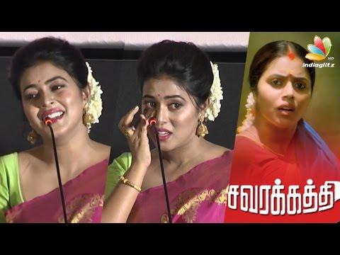 After-Sivakarthikeyan-Actress-Poorna-cried-onstage-at-Savarakathi-Audio-Launch