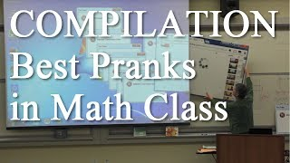 """Compilation of the best parts of the prank videos I did for my math class, going back to the very beginning eight years ago. Most of them were for April Fools Day.SUBSCRIBE to see more of these in the future and also to watch some """"behind the scenes"""" versions and other videos. See the full version of all of these videos here on my channel at YouTube.com/MDWeathersCONNECTFind me on Twitter: @MatthewWeathers -  http://Twitter.com/MatthewWeathers"""