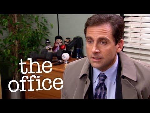 Michael Dumps Jan Via Voicemail  - The Office US