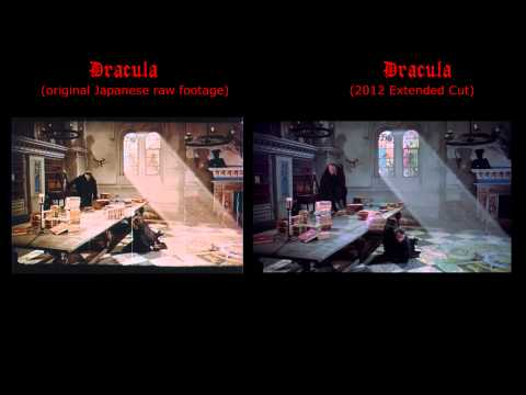 Dracula (1958) Finale - Japanese Vs UK 2012 Versions