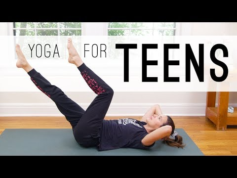 Play this video Yoga For Teens    Yoga With Adriene