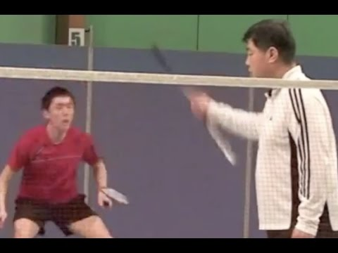 Badminton Footwork Training  (4) How to Develop Fast Reaction