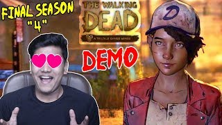 MY FAVOURITE GAME IS HERE - Walking Dead Season 4 Demo