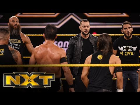 Finn Balor brutalizes Johnny Gargano WWE NXT Oct 23 2019