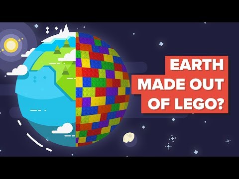 What if Earth was Made Out of Lego?