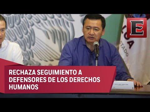 Osorio Chong niega espionaje del gobierno federal a periodistas