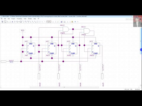 Altera CPLD Basic Tutorial (Case : Synchronous Up Counter 4 Bit)