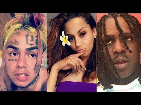 6ix9ine Takes Chief Keef's BABY MAMA SHOPPING and She Clowns Sosa