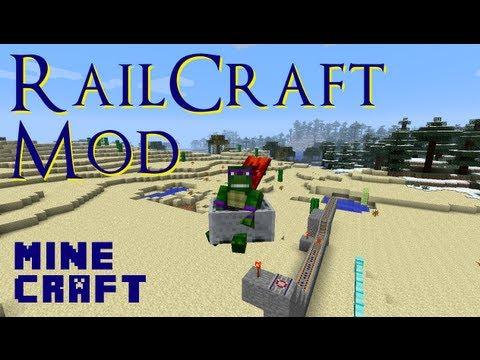 Minecraft Mod Showcase: RAILCRAFT!!!