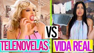 TELENOVELAS vs LA VIDA REAL | Mariale