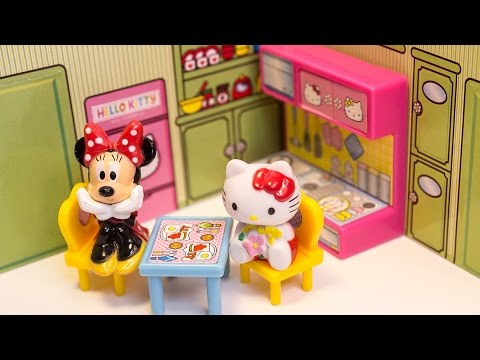 toys - Beautiful Hello Kitty and Mickey Mouse Dollhouse Unboxing Toys Review ✿◕ ‿ ◕✿ You can also check out my Play-Doh kits playlist, amazing playsets that you can prepare delicious playdough...