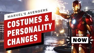 Marvel's Avengers Personalities Will Change - IGN Now by IGN